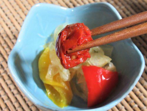 ナッシュ・玉ねぎとミニトマトの甘酢漬け