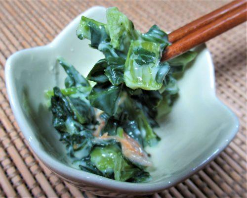 ナッシュ・小松菜のクリーム煮