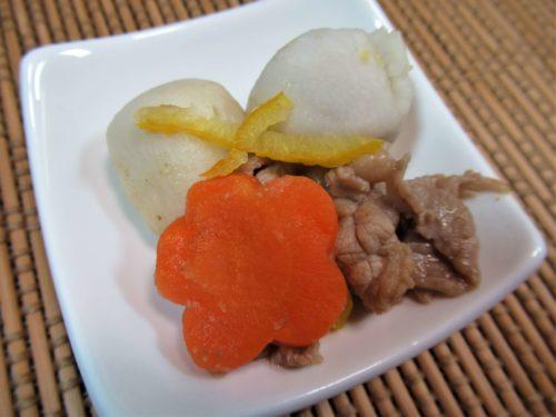食宅便・里芋と牛肉の味噌煮
