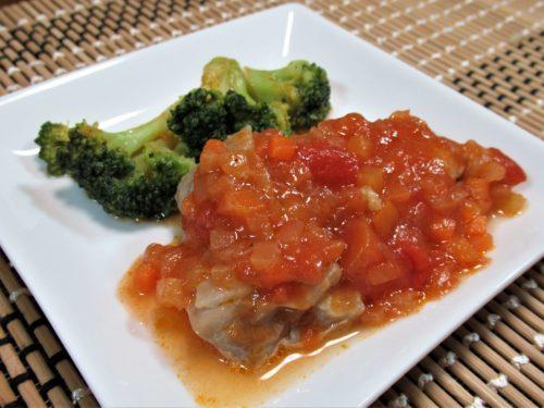 スギサポdeli鶏肉のトマトソース