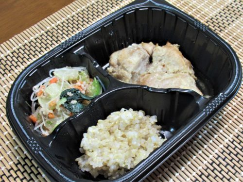 マッスルデリ鶏肉の生姜焼きセット
