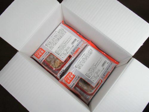 ワタミの宅食宅配段ボール開封