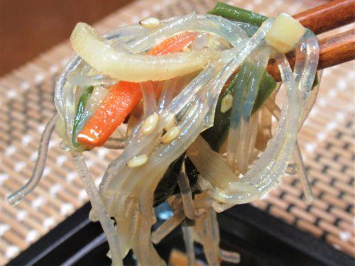 食のそよ風・春雨と野菜のオイスターソース炒め