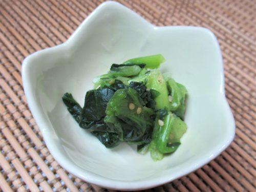 メディカルフードサービス・小松菜の和え物