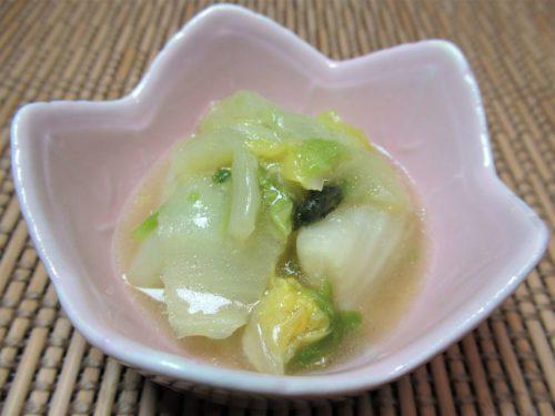 シルバーライフまごころケア食・白菜炒め