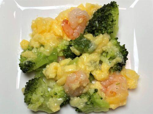 タイヘイファミリーセット・ブロッコリーとえびの卵とじ