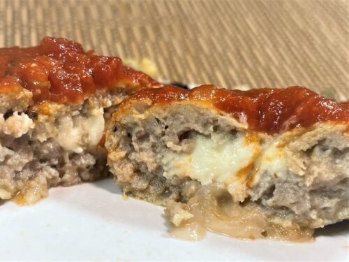 ライザップ・チーズ入りハンバーグ