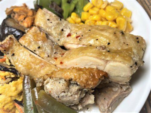ライザップサポートミール・鶏肉のエスニック焼き
