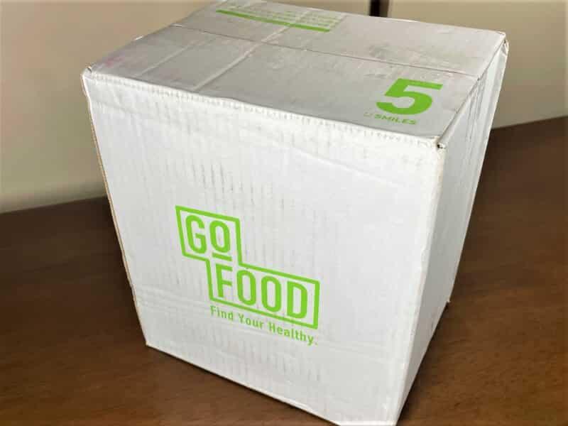 GO FOOD段ボール