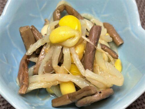 ワタミの宅食ダイレクト・大豆もやしとぜんまいのナムル